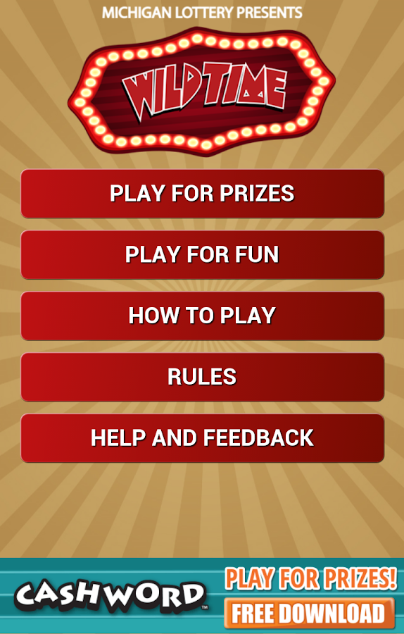 Wild Time by Michigan Lottery - screenshot