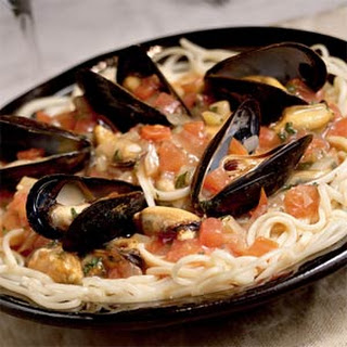 Linguine with Mussels.
