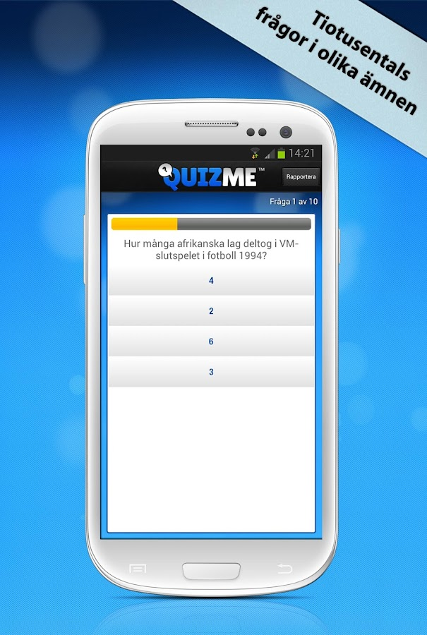 QuizMe - screenshot