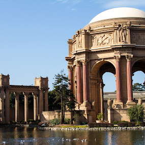 by William Stansbury - Buildings & Architecture Other Exteriors ( 1934, dome, worlds fair, monument, san francisco,  )