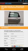 Screenshot of PartShark Car Parts & Spares