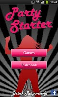 Screenshot of Party Starter (drinking games)