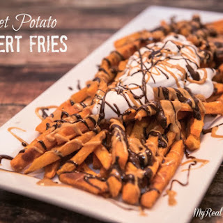 Sweet Potato Dessert Fries