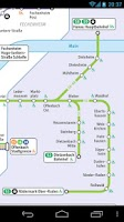 Screenshot of Frankfurt Transport Map Free