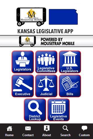 Kansas Legislative App