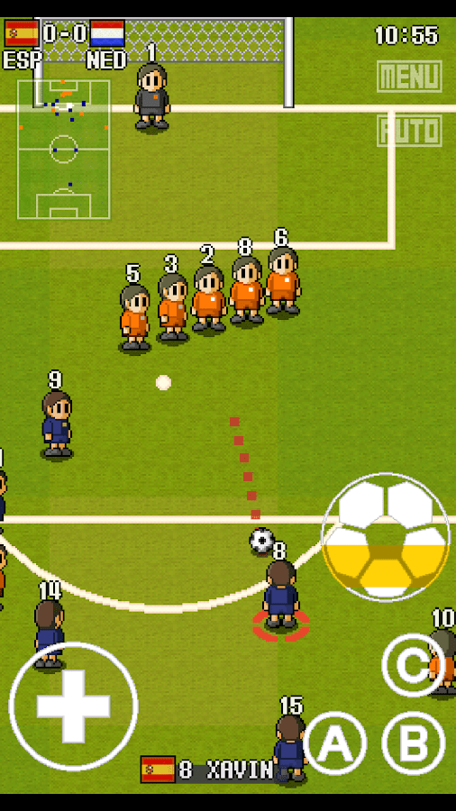PORTABLE SOCCER DX- screenshot