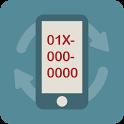 M-Numback -01X번호변경, 01X 변경 icon