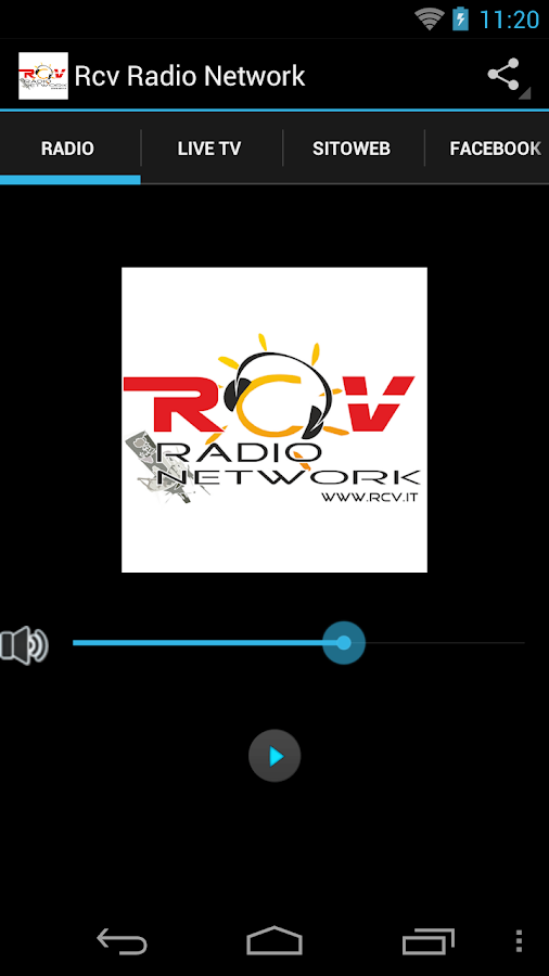 Rcv Radio Network- screenshot
