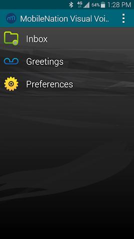 Voicemail Screenshot