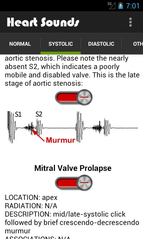 Heart Sounds (+ Lung Sounds)- screenshot