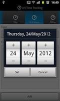 Screenshot of AH TimeTracking