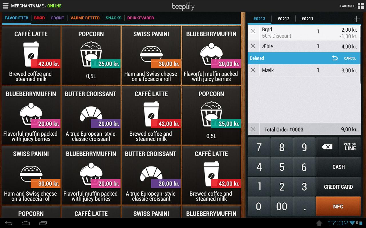 Beeptify pos point of sale android apps on google play for Windows 4 sale