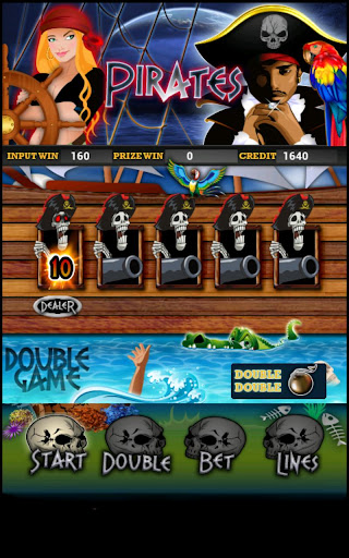 Pirate Slot Machine HD Screen Capture 2