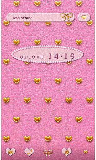 Pink Leather & Heart Studs 1.1 Windows u7528 1
