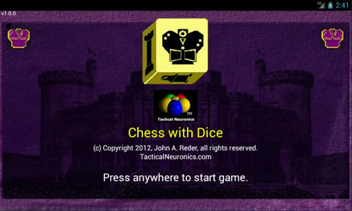Chess with Dice