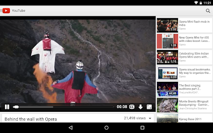 Opera browser for Android Screenshot 2