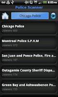 Screenshot of Police Scanner 5-0