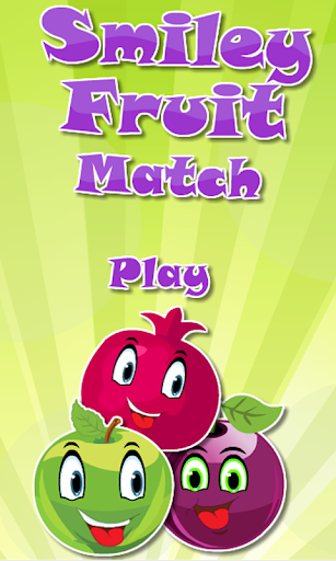 Match Smiley Fruit