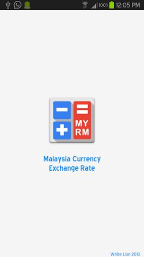 Malaysia RM Exchange Rate