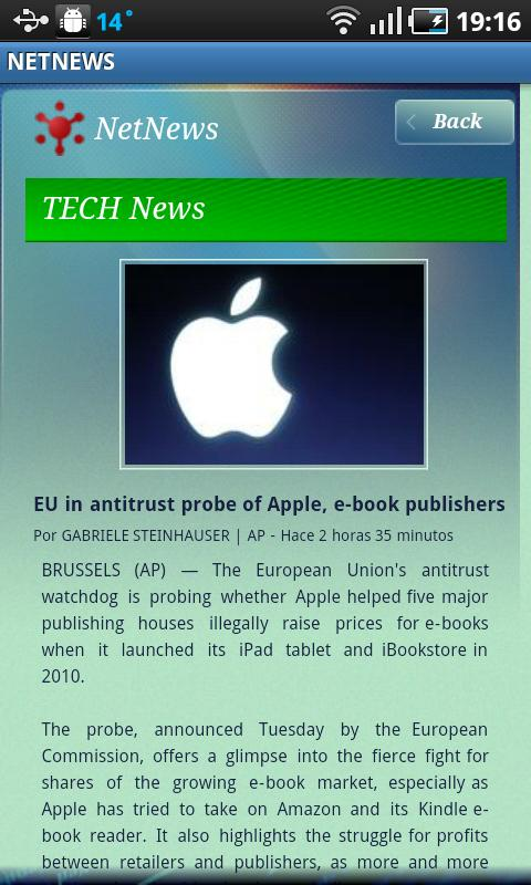 NET NEWS - screenshot