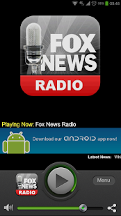 Fox News Radio - screenshot thumbnail