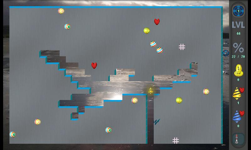 Xonix Blast Free- screenshot