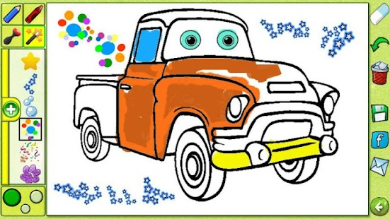 Coloring Book - Cartoons Free- screenshot thumbnail