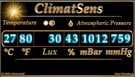 ClimatSens - screenshot thumbnail