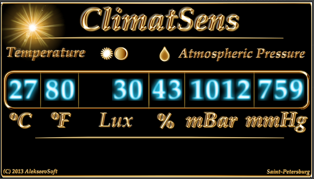 ClimatSens - screenshot