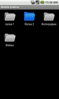 Screenshot of Mobile Auditor