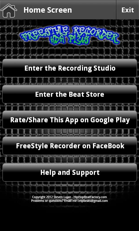 FreeStyle Recorder HDA Plus- screenshot