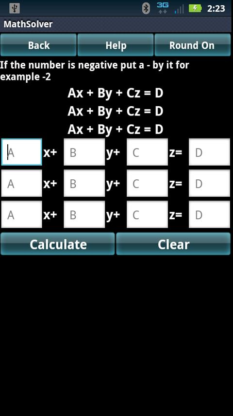 Math Algebra Solver Calculator- screenshot