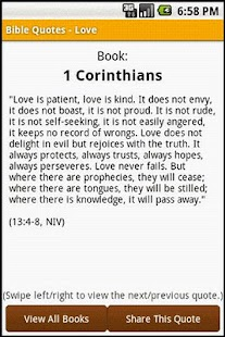 Bible Quotes - Love - screenshot thumbnail