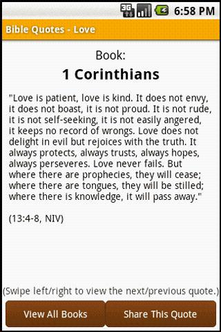 Bible Quotes - Love - screenshot