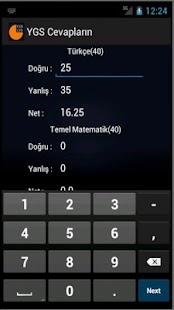 YGS  LYS Puan Matik - screenshot thumbnail