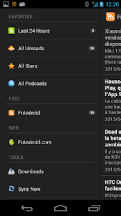 FrAndroid - screenshot thumbnail