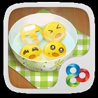 Dumpling guy GO Launcher Theme v1.0