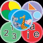 App educativo niño bebe kinder icon