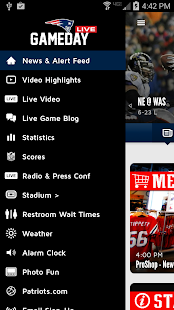 Patriots Gameday Live - screenshot thumbnail