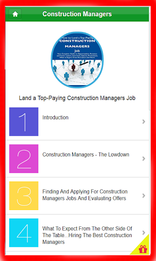 Basic Construction manager pro