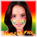 Paint your face Ghana icon