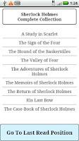 Screenshot of Sherlock Holmes Complete