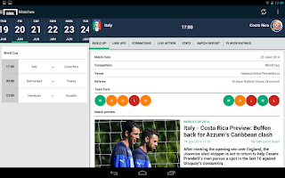 Screenshot of Goal.com