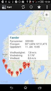 KystVær - Kystverket - screenshot thumbnail