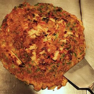 Japanese Pancakes (Okonomiyaki).