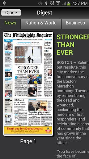 Philadelphia Inquirer Replica  screenshots 3