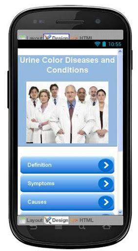Urine Color Disease Symptoms