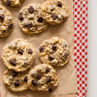 Chocolate Chip Rice Krispies Treat Cookies.