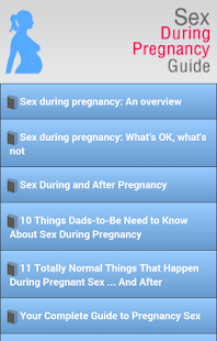 Sex During Pregnancy Guide