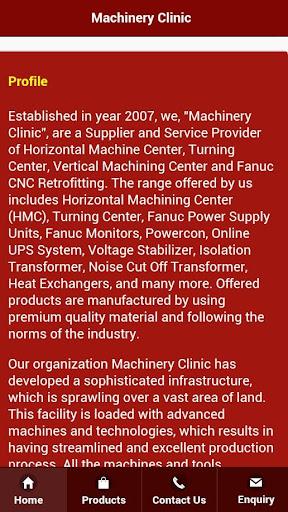 Machinery Clinic
